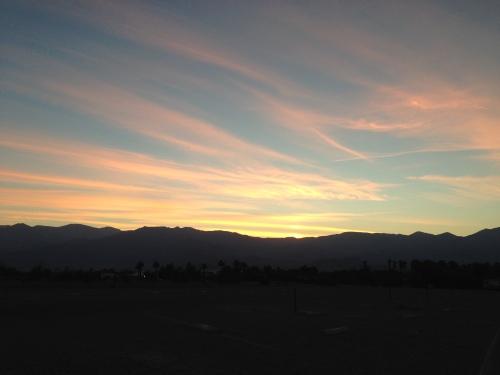 Sunset at Furnace Creek