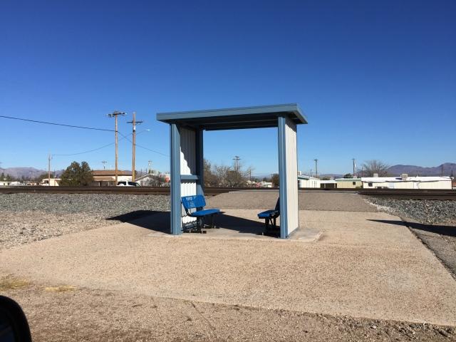 Benson, Arizona, Train Station!