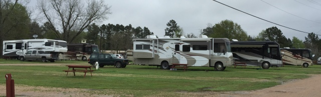 Escapees RV Park, Livingston, Texas