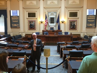 Virginia Senate Chambers