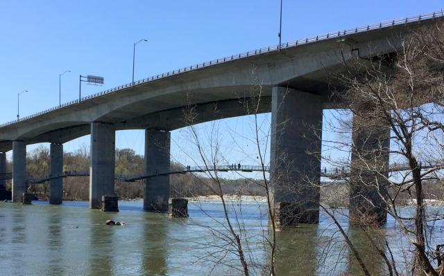 Belle Isle Suspension Bridge, Richmond, VA